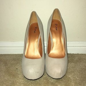 Truth Nude Platform Stilettos